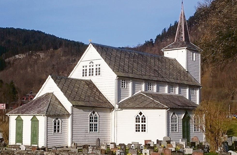 Til nett Ådland kyrkje