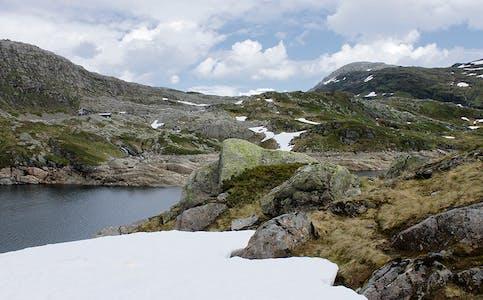 Øvre Dukavatn, fjellparti RGB