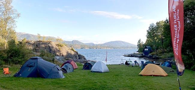 til nett, teltplass RGB