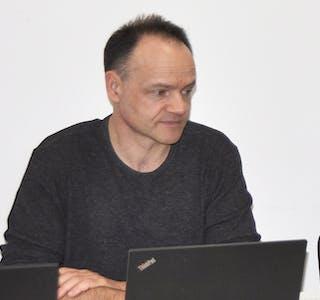 TEK OVER RORET: Jan Erik Boge skal fungera som rådmann i Samnanger fram til ny fast toppleiar er på plass.